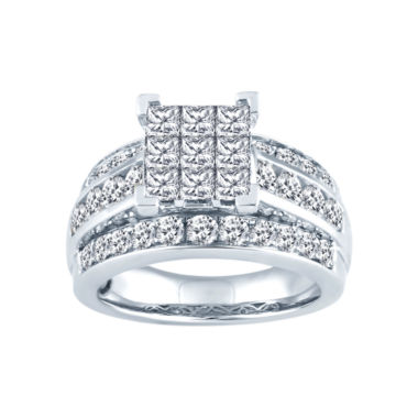 jcpenney.com | 2 1/2 CT. T.W. Diamond Bridal Ring 10K White Gold
