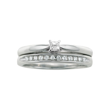 jcpenney.com | I Said Yes™ 1/6 CT. T.W. Certified Diamond Bridal Set