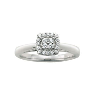 jcpenney.com | I Said Yes™ 1/6 CT. T.W. Certified Diamond Engagement Ring