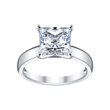 jcpenney.com | DiamonArt® Cubic Zirconia Princess Engagement Ring