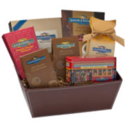 Ghirardelli® Chocolate Cable Car Collection Gift Basket