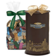 Ghirardelli San Francisco Skyline Cylinder Gift Box with Chocolates