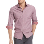 IZOD® Slim-Fit Striped Woven Shirt