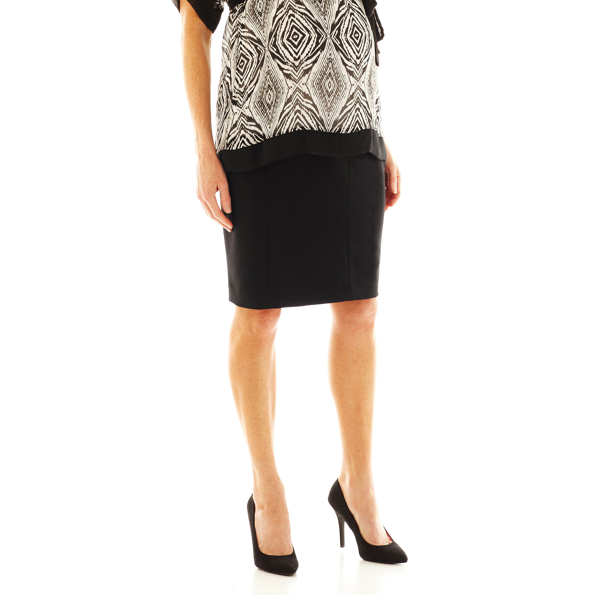 duo™ Maternity Overbelly Pencil Skirt plus size,  plus size fashion plus size appare