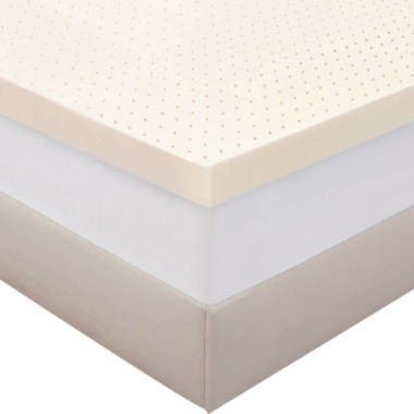 "jcpenney.com | Authentic Comfort® Biofresh® 4"" Memory Foam Mattress Topper"
