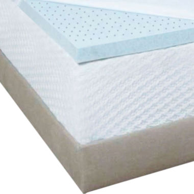 "jcpenney.com | Authentic Comfort® Biofresh® 2"" Gel Memory Foam Mattress Topper"
