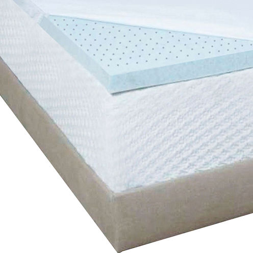 "Authentic Comfort® Biofresh® 2"" Gel Memory Foam Mattress Topper"