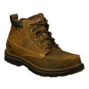 Skechers® Barillo Leather Lace-Up Mens Boots