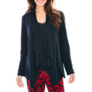 Ambrielle® Long-Sleeve Sleep Flyaway Sweater