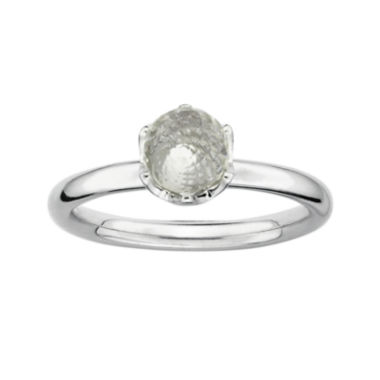 jcpenney.com | Personally Stackable Genuine White Topaz Briolette Ring