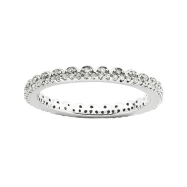 jcpenney.com | Personally Stackable 1/4 CT. T.W. Diamond Eternity Ring