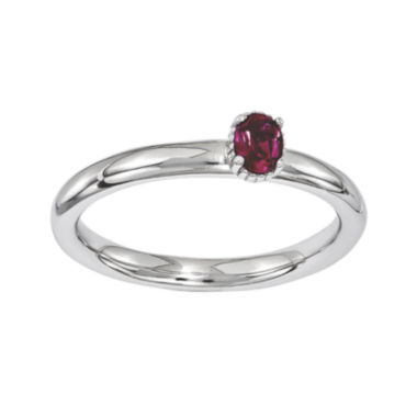 jcpenney.com | Personally Stackable Lab-Created Ruby Off-Center Ring