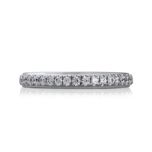 Modern Bride® 1/4 CT. T.W. Diamond 14K White Gold Anniversary Band