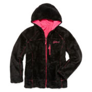 Weatherproof Reversible Monkey Fleece Jacket - Girls 7-16