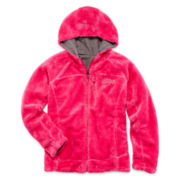 Weatherproof Reversible Monkey Fleece Jacket - Girls 4-6x