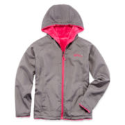 Weatherproof Reversible Monkey Fleece Jacket - Girls 7-16 Plus