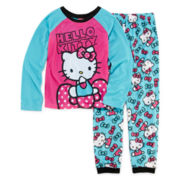 Hello Kitty® 2-pc. Bow Pajama Set - Girls 4-10