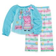 Peppa Pig 2-pc. Pajama Set - Girls 2t-4t
