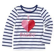 Okie Dokie® Long-Sleeve Graphic Tee - Girls 12m-24m