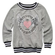 Beautees 2-Pc. Graphic Sweatshirt and Tank Top - Girls 7-16
