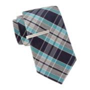 JF J. Ferrar® Barr Plaid Tie