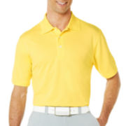 PGA TOUR® Airflux Solid Polo Shirt