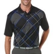 PGA TOUR® Argyle Print Polo