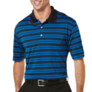 PGA TOUR® Airflux Striped Polo