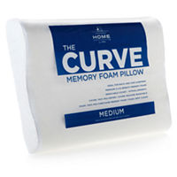 JCPenney Home The Curve Memory Foam Contour Pillow (White)