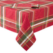 Christmas Plaid Table Linen Collection