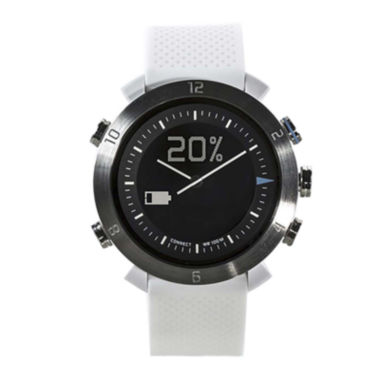 jcpenney.com | Cogito Classic White Silicone Strap Analog/Digital Smartwatch