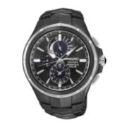 Seiko® Coutura Mens Solar Perpetual Chronograph Watch SSC377