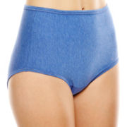 Vanity Fair® Illumination® Cotton-Blend Briefs - 13316