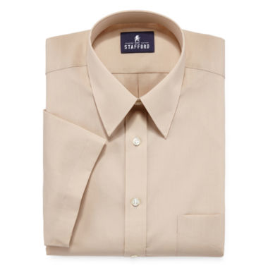 jcpenney.com | Stafford® Travel Short-Sleeve Easy-Care Broadcloth Dress Shirt
