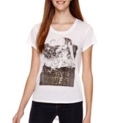 Star Wars® Short-Sleeve Classic Tonal T-Shirt