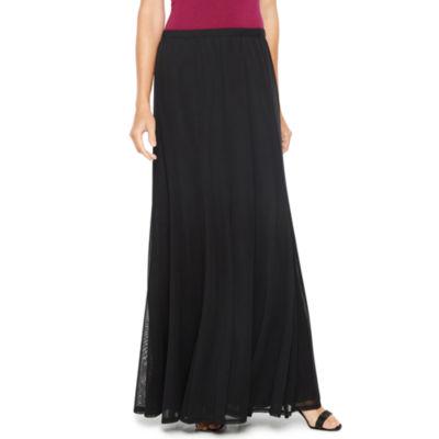 Onyx Nites Maxi Skirt by Onyx Nites