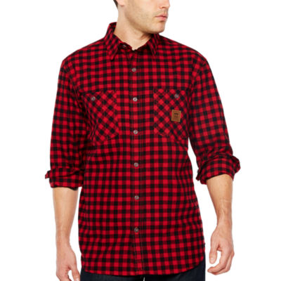Walls Thurber Vintage Long Sleeve Flannel Shirt by Walls