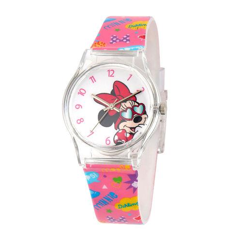 Disney Minnie Mouse Kids Multi-Pink Strap Watch