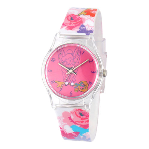 Disney Tinker Bell Kids Multicolor Strap Watch