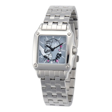 jcpenney.com | Disney Tinker Bell Womens Silver-Tone Watch