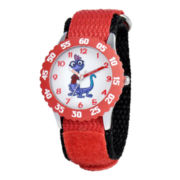 "Disney Monsters University Randall ""Randy"" Boggs Kids Time Teacher Watch"