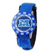 Disney Monsters University Kids Time Teacher Blue Strap Watch