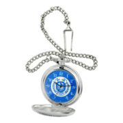 Disney Monsters University Blue & Silver-Tone Pocket Watch