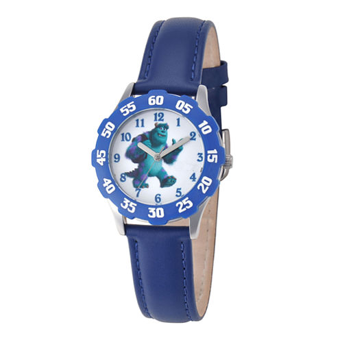 Disney Sulley Monsters University Kids Time Teacher Blue Watch