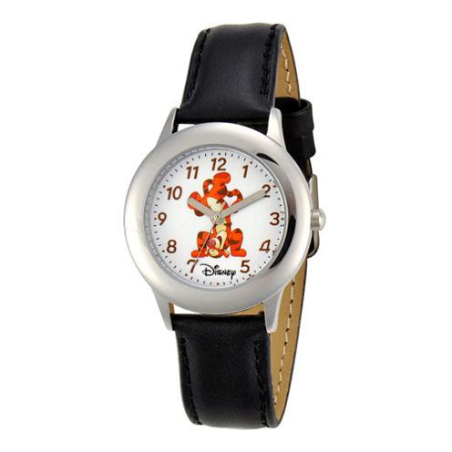 Disney Tigger Kids Leather Strap Watch