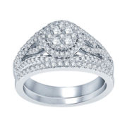 nicole by Nicole Miller® 1 CT. T.W. Diamond Bridal Set