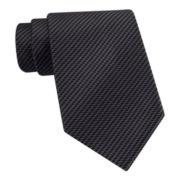 Van Heusen® Zig Zag Silk Tie - Extra Long