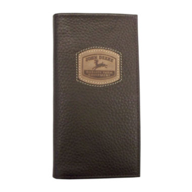 jcpenney.com | John Deere® Leather Checkbook Wallet