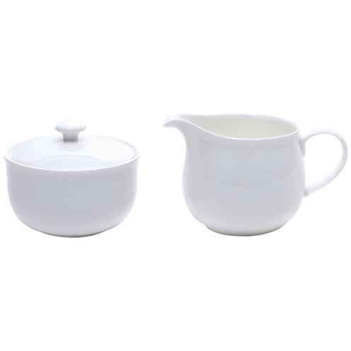 Bone China Sugar and Creamer Set