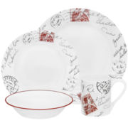 Corelle® Impressions 16-pc. Sincerely Yours Dinnerware Set
